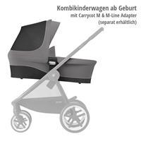 Geeignet ab Geburt mit Tragewanne M (separat erhältlich) | Cybex Balios M Kinderwagen