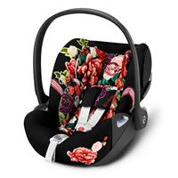 Cybex infant carrier Cloud Z i-Size Design 2020 Spring Blossom Dark | black