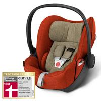 cybex cloudQ plus babyschale 2016 autumn gold testsieger stiftung warentest 06 2015 Hauptbild