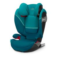Cybex Kindersitz Solution S-Fix Design 2020 River Blue | turquoise