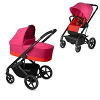 Cybex Kinderwagen-Set Balios S inkl. Tragewanne Cot S Fancy Pink