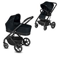 Cybex Kinderwagen-Set Balios S inkl. Tragewanne Cot S Lavastone Black