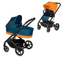 Cybex Kinderwagen-Set Balios S inkl. Tragewanne Cot S Tropical Blue