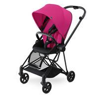 Cybex Mios Kinderwagen Matt Black Mystic Pink