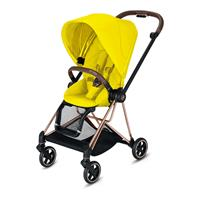 Cybex MIOS Sportwagen Rosegold Mustard Yellow