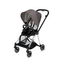 Cybex MIOS Sportwagen Chrome Black Manhattan Grey Plus