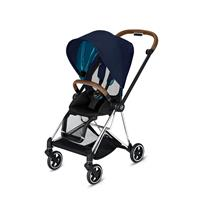 Cybex MIOS Sportwagen Chrome Brown Midnight Blue Plus