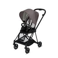 Cybex MIOS Sportwagen Matt Black Manhattan Grey Plus