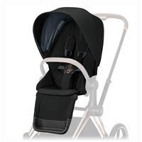 Cybex Sitzpaket für Kinderwagen Priam Design 2020 Deep Black | black