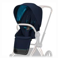 Cybex Sitzpaket für Kinderwagen Priam Design 2020 Nautical Blue | navy Blue