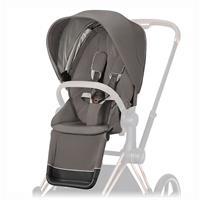 Cybex Sitzpaket für Kinderwagen Priam Design 2020 Soho Grey | mid grey