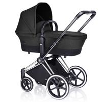 Cybex Priam Carry Cot Black Beauty On Frame