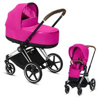 Cybex Priam Chrome Lux Kombikinderwagen Fancy Pink