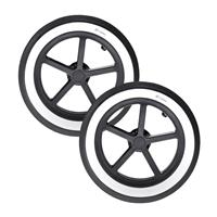 Cybex PRIAM Rear Wheel Set ALL TERRAIN 2017 White