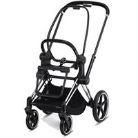 Cybex Kinderwagen Priam Rahmen inkl. Sitz Design 2020 Chrome Black | black