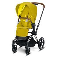 Priam Sportwagen Chrome/Braun Mustard Yellow von Cybex