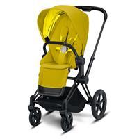 Priam Sportwagen Matt Schwarz Mustard Yellow von Cybex