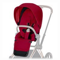Cybex Sitzpaket für Kinderwagen Priam Design 2019 True Red