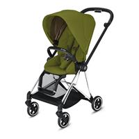 Cybex MIOS Sportwagen Chrome Black Khaki Green