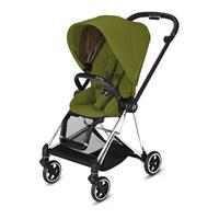 Cybex MIOS stroller Chrome Black Khaki Green