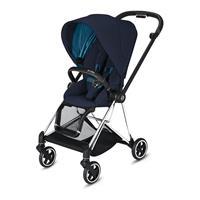 Cybex MIOS stroller Chrome Black Nautical Blue
