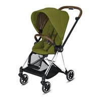 Cybex MIOS Sportwagen Chrome Brown Khaki Green