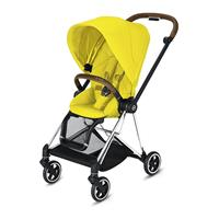 Cybex MIOS Sportwagen Chrome Brown Mustard Yellow