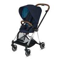 Cybex MIOS Sportwagen Chrome Brown Nautical Blue
