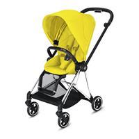 Cybex MIOS stroller Chrome Black Mustard Yellow