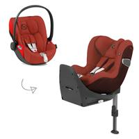 Cybex Z-Line car seat Modular System with Base Z, Cloud Z & Sirona Z PLUS Autumn Gold BR