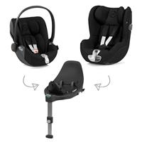 Cybex Z-Line car seat Modular System with Base Z, Cloud Z & Sirona Z PLUS Deep Black | black