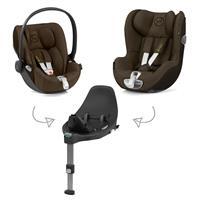 Cybex Z-Line Kindersitz Modular System mit Base Z, Cloud Z & Sirona Z PLUS Khaki Green | green|