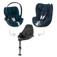 Cybex Z-Line Kindersitz Modular System mit Base Z, Cloud Z & Sirona Z PLUS Mountain Blue | blue