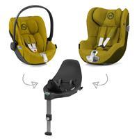 Cybex Z-Line Kindersitz Modular System mit Base Z, Cloud Z & Sirona Z PLUS Mustard Yellow