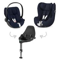 Cybex Z-Line car seat Modular System with Base Z, Cloud Z & Sirona Z PLUS Nautical Blue
