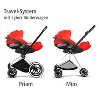 Cybex Z-Line Kindersitz Modular System mit Base Z, Cloud Z & Sirona Z Autumn Gold | burnt red