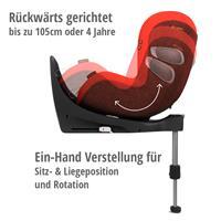 Cybex Z-Line Kindersitz Modular System mit Base Z, Cloud Z & Sirona Z Autumn Gold