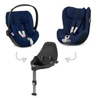 Cybex Z-Line Kindersitz Modular System mit Base Z, Cloud Z & Sirona Z Midnight Blue