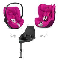 Cybex Z-Line Kindersitz Modular System mit Base Z, Cloud Z & Sirona Z Passion Pink