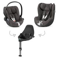 Cybex Z-Line Kindersitz Modular System mit Base Z, Cloud Z & Sirona Z PLUS Manhattan Grey