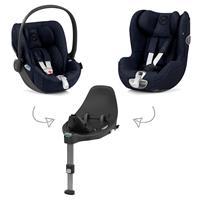 Cybex Z-Line Kindersitz Modular System mit Base Z, Cloud Z & Sirona Z PLUS Midnight Blue