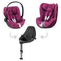 Cybex Z-Line Kindersitz Modular System mit Base Z, Cloud Z & Sirona Z PLUS Passion Pink