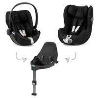 Cybex Z-Line Kindersitz Modular System mit Base Z, Cloud Z & Sirona Z PLUS Stardust Black