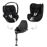 Cybex Z-Line Kindersitz Modular System mit Base Z, Cloud Z & Sirona Z Stardust Black