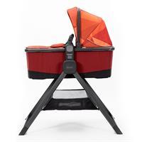 Quantum2 Tragewanne von diono mit praktischem Reiseständer Orange Facet