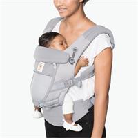 Ergobaby Adapt Cool Air Mesh 3-Positionen Babytrage Pearl Grey