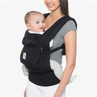 Ergobaby Original 3-Positionen Babytrage Pure Black