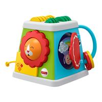 Fisher-Price Motor Activity Toy Discovery Cube Safari