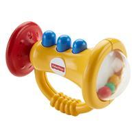 Fisher-Price Babys Beißring-Trompetenrassel DRF17