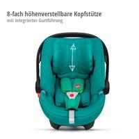 Artio Babyschale Gr.0+ von GB goodbaby | 8-fach höhenverstellbare Kopfstütze mit integrierter Gurtfü
